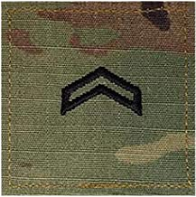 Army CPL ROTC Cadet Rank OCP Scorpion with HOOK Fastener-CORPORAL