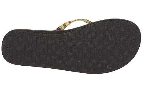 New For Sale Order Online Sanuk Yoga Joy Funk Green Kauai Blanket zvXxru631