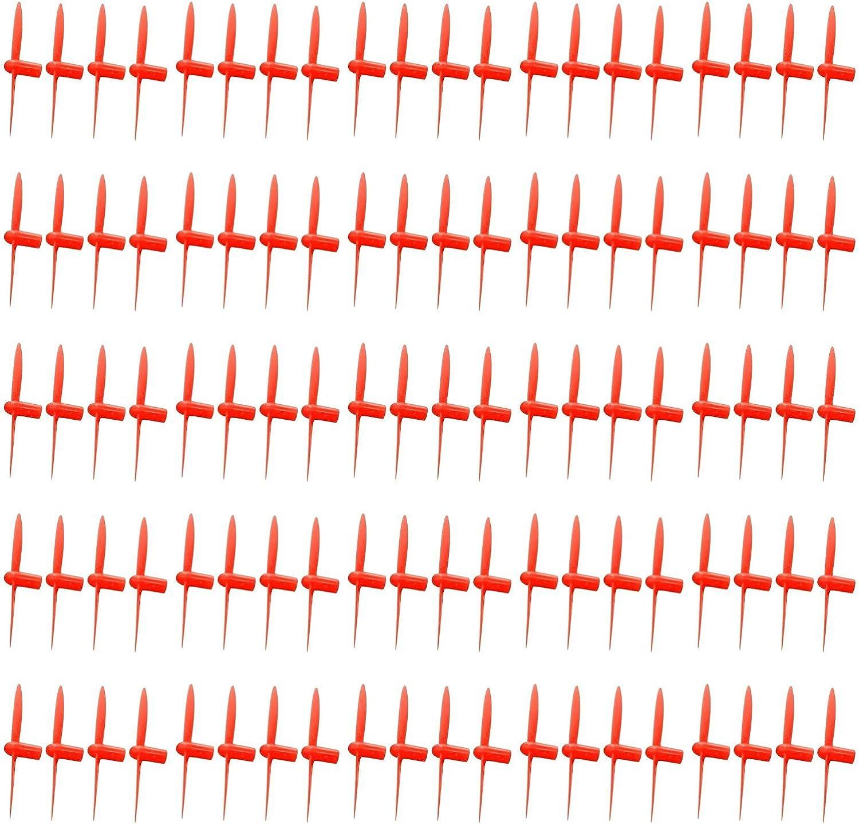 en venta en línea 25 25 25 x Quantity of WLJuguetes V292 All rojo Nano Quadcopter Propeller blade Set 32mm Propellers Blades Props Quad Drone parts - FAST FROM Orlando, Florida USA   están haciendo actividades de descuento