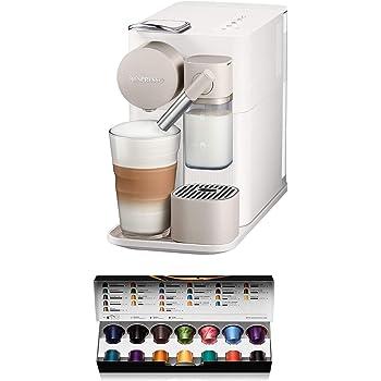 Nespresso DeLonghi Lattissima One EN500W - Cafetera monodosis de cápsulas Nespresso con depósito de leche compacto, 19 bares, apagado automático color blanco: Amazon.es: Hogar