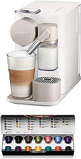 Nespresso De'Longhi Lattissima One EN500W-Cafetera monodosis de cápsulas Nespresso con depósito de leche compacto, 19 bare...