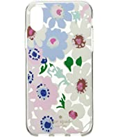 Kate Spade New York - Jeweled Daisy Garden Clear Phone Case for iPhone X