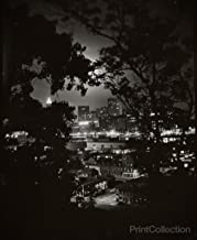Print Collection Night View Through Trees of Pittsburgh W. Eugene Smith 36