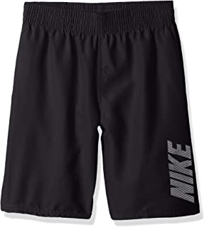 Nike Boys' Big Logo Solid Lap Volley Short Swim Trunk