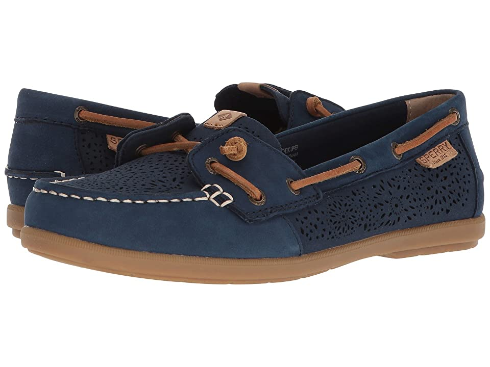 Sperry Coil Ivy Geo Perf (Navy) Women