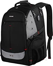 Large Laptop Backpack,Extra Large Bookbag with USB Charging Port for Men and Women,TSA Friendly Travel Laptop Backpacks College School Backpacks Business Computer Bag Fit 17inch Laptops,Black