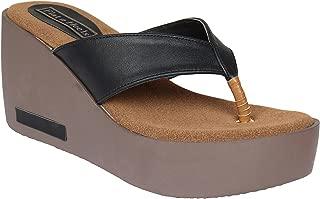 Flat n Heels Womens Slip on Black FnH 4302-BK