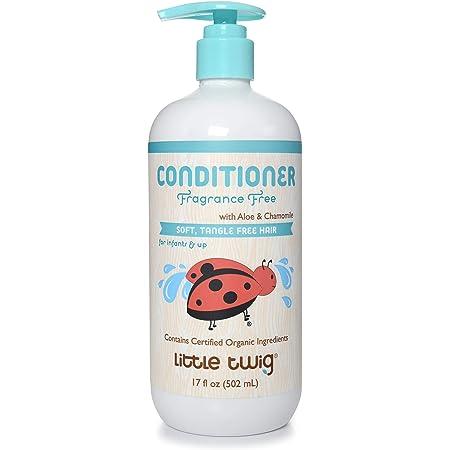 Little Twig Conditioner, Natural Plant Derived Formula, 17 fl oz, No flavor