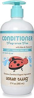 Little Twig Conditioner, Natural Plant Derived Formula, Fragrance Free, 17 fl oz.