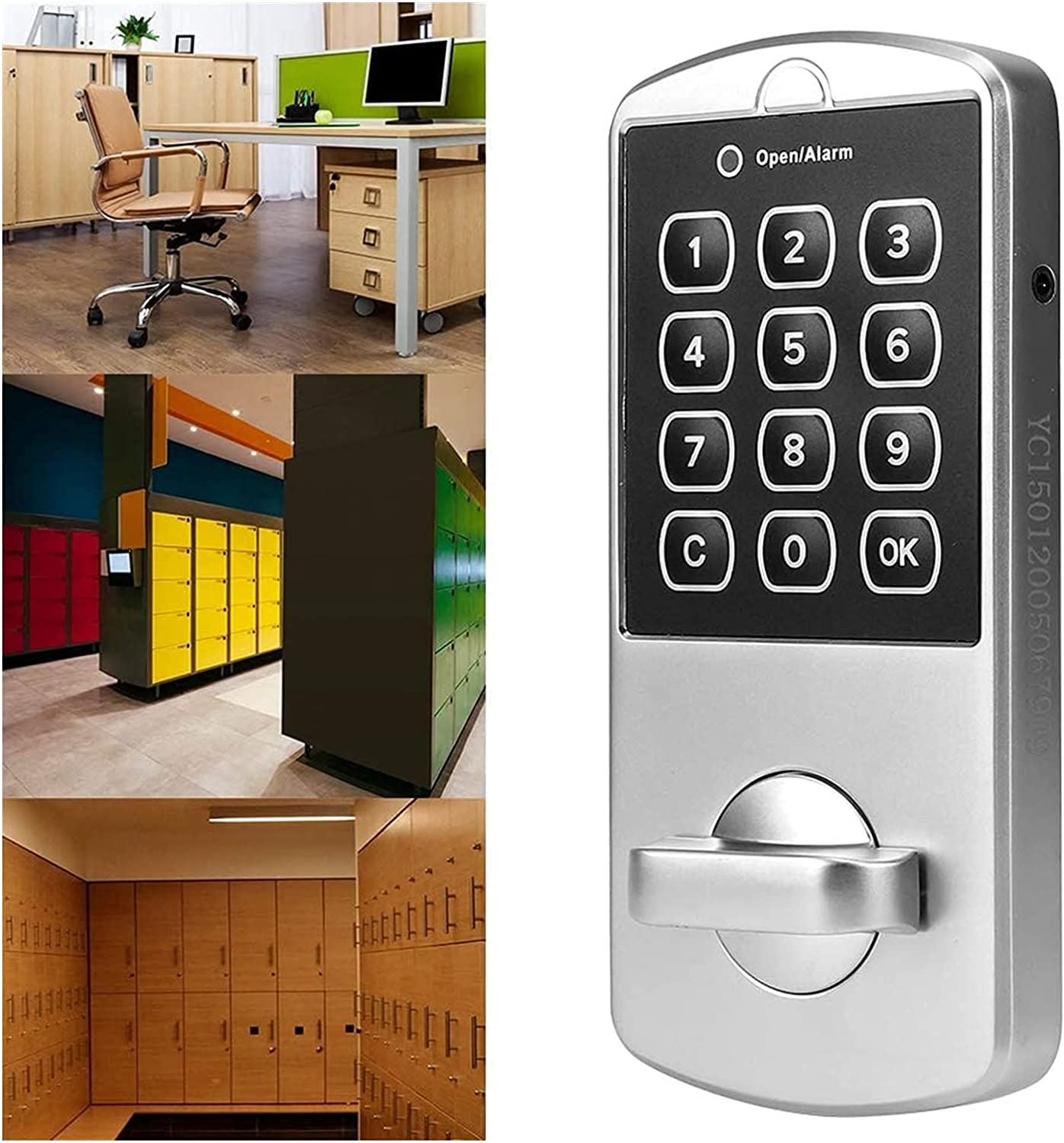 LIBAI Electronic Keyless Password Codes File Limited time for free shipping Passwo Lock All items in the store Cabinet