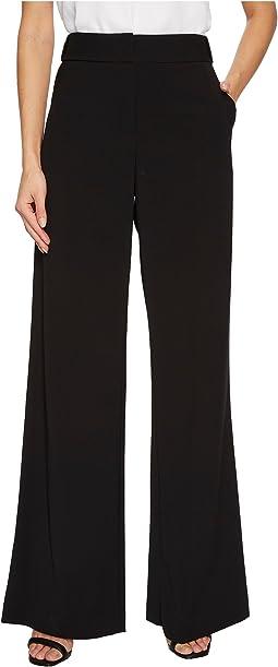 Halston Heritage - Flowy Wide Leg Pants