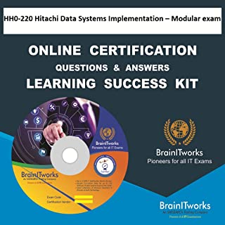 HH0-220 Hitachi Data Systems Implementation – Modular exam Online Certification Video Learning Made Easy