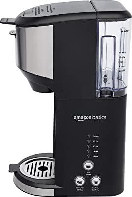 Amazon Basics Dual Brew Single Serve Capsule Coffee Maker