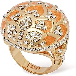خاتم SHAZE نسائي عصري مطلي بالذهب و البنات هدية للحب