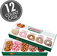 Jelly Belly Krispy Kreme Doughnuts Jelly Beans Gift Box, 5 Flavors, 4.25-oz, 12 Pack