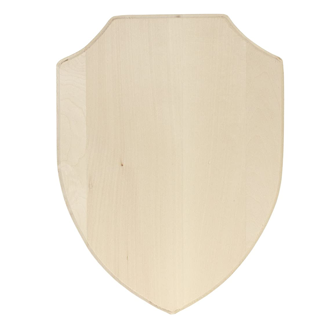 Walnut Hollow 41906 Basswood Simple Shield Style Plaque, Wood
