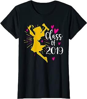 Class Of 2019 Girl Graduation Gift Tshirt