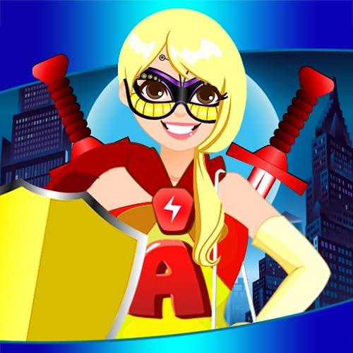 Super-heróis Vestir-se Jogos