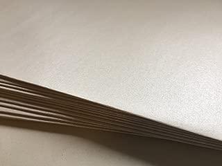 50 sobres de nácar, de color perla, White Pearl, 220 x 110 mm, cierre autoadhesivo con tira, Premio: 100 g/m²