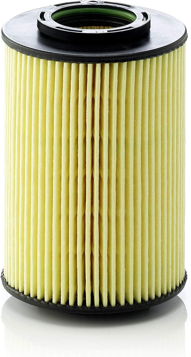 Original MANN-FILTER Filtro de aceite HU 822/5 x – Set de filtro de aceite juego de juntas – Para automóviles