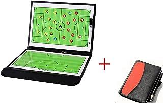 comprar comparacion wenhaoyu plegable magnético de entrenador de fútbol de fútbol tácticas estrategia Junta con un write-wipe borrable bolígra...