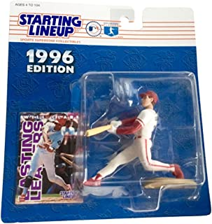 Starting Lineup Will Clark Figure with Trading Card 1996 MLB Baseball Texas Rangers