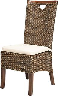 Rotin Design Soldes : -49% Chaise Racine Moka en Osier