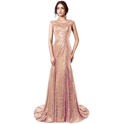 Rose Gold Gowns Amazoncom