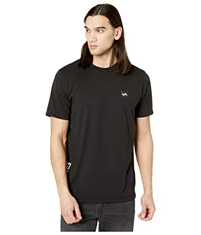 RVCA Sport Box Short Sleeve T-Shirt (Black 2) Men