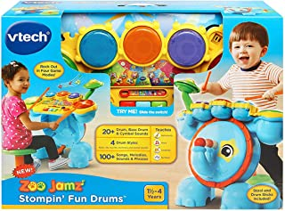 VTech Zoo Jamz Stompin' Fun Drums Toy Set