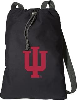 Broad Bay Indiana University Drawstring Backpack Rich Canvas IU Cinch Bag