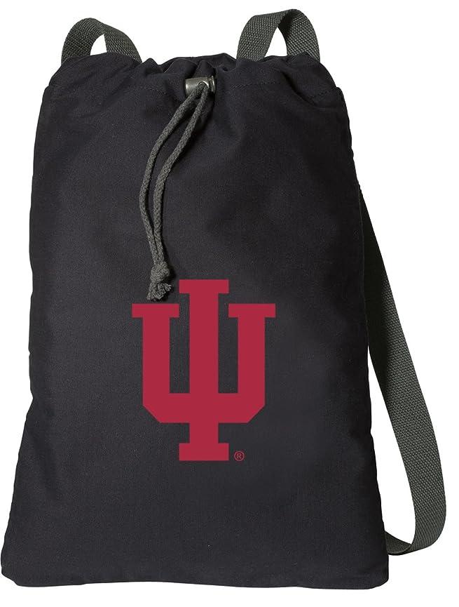 先史時代の検出津波インディアナ州大学DrawstringバックパックリッチキャンバスIU Cinch Bag