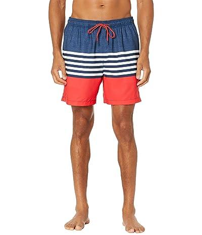 Southern Tide Stusa Heather Stripe Swim Trunks