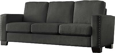 Amazon.com: Ashley Furniture Oberson Reclining Sofa in ...