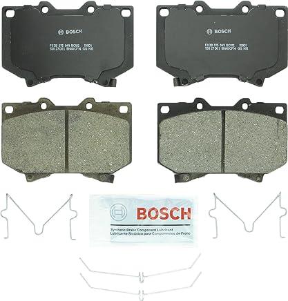 Bosch BC812 QuietCast Premium Ceramic Disc Brake Pad Set For Toyota: 2001-2002 Sequoia, 2000-2002 Tundra; Front