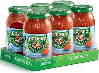 Dolmio Original Low Fat Sauce for Bolgnese, 500 gm (Pack of 6)