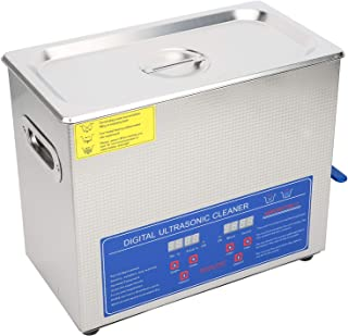 Ultra Sonic -Digital Ultra Sonic Cleaner 6L Stainless Bath Timer Tank Ultrasonic Cleaning Machine