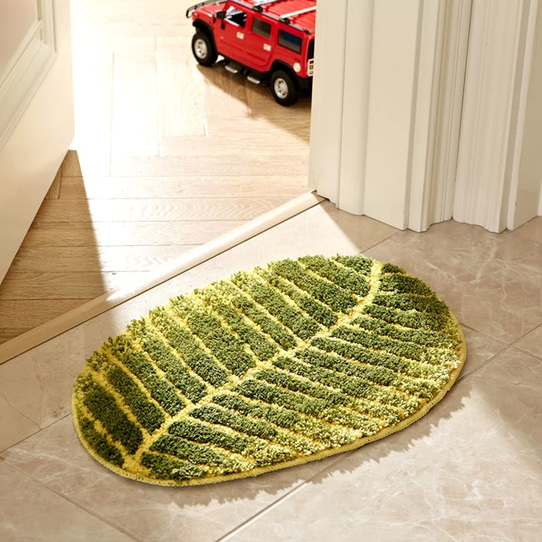 [Creative] bar Flashing Lights mat Cushion Carpet Bedroom [Bedside] [Small mats] Door Foot pad-A 70x140cm(28x55inch)