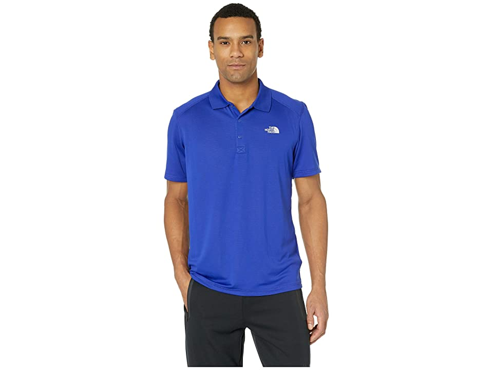 The North Face Short Sleeve Horizon Polo (Aztec Blue) Men