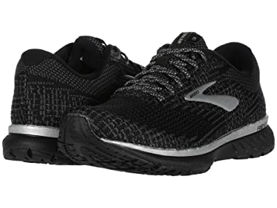 Brooks Revel 3 (Black/Silver/Blackened Pearl) Women