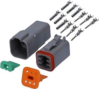 wasserdichter KfZ Industrie Stecker KALI 1206 DEUTSCH DT Set 6 polig 0,75 2,1mm² I Original vom deutschen Händler