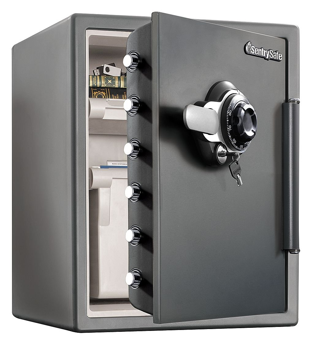 SentrySafe SFW205DPB Fire NEW before selling ☆ San Diego Mall Safe ft Gray cu 2.05