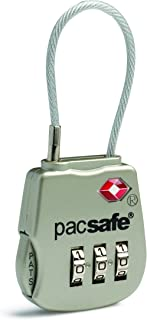 Pacsafe PS10250705 Luggage Lock, Silver, Combination Lock