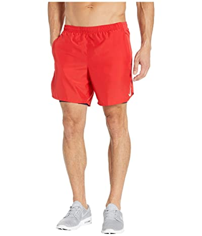 Nike Challenger Shorts 7 2-in-1 (University Red/Reflective Silver) Men