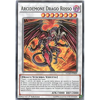 Andycards Yu-Gi-Oh! Segnapunti IMMORTALE TERRESTRE URU Super Rara LC5D-IT152 in Italiano