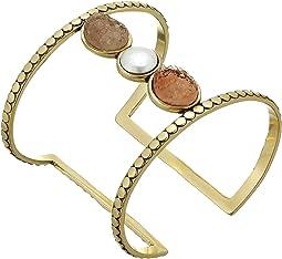 Druzy Bar Cuff Bracelet