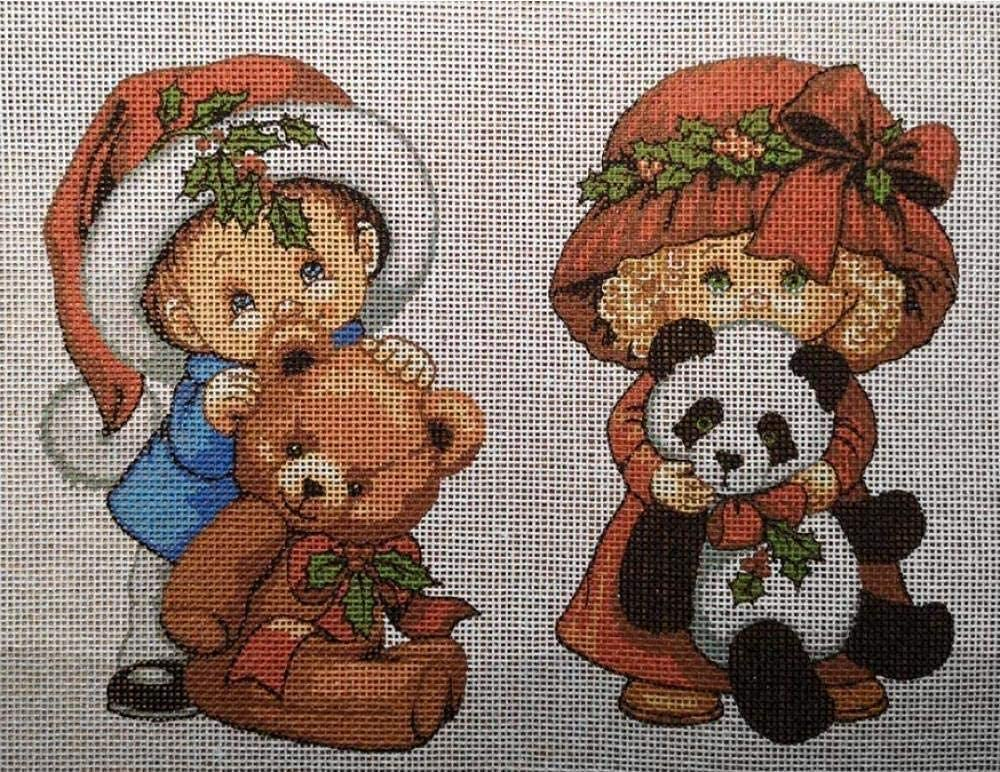 BaiJaC Max 83% OFF Classic Cross Stitch kit Tapestry Childr Embroidery Set Christmas