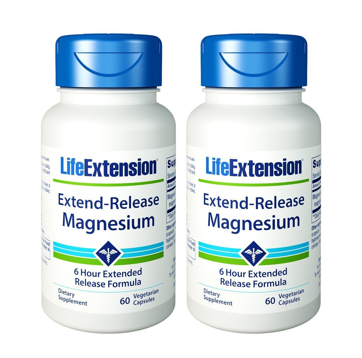 Life Extension ExtendRelease Magnesium Vegetarian