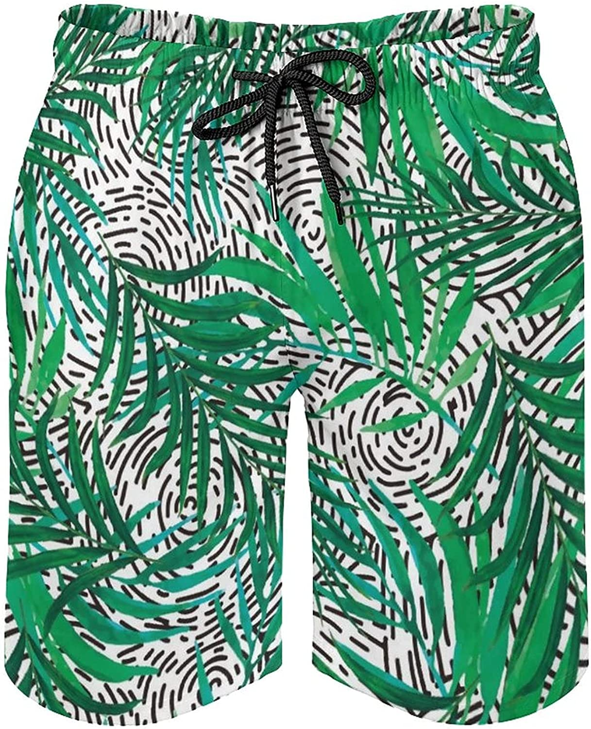 by Unbranded Men's Summer Swim Trunks Casual Short Pants Tropicale