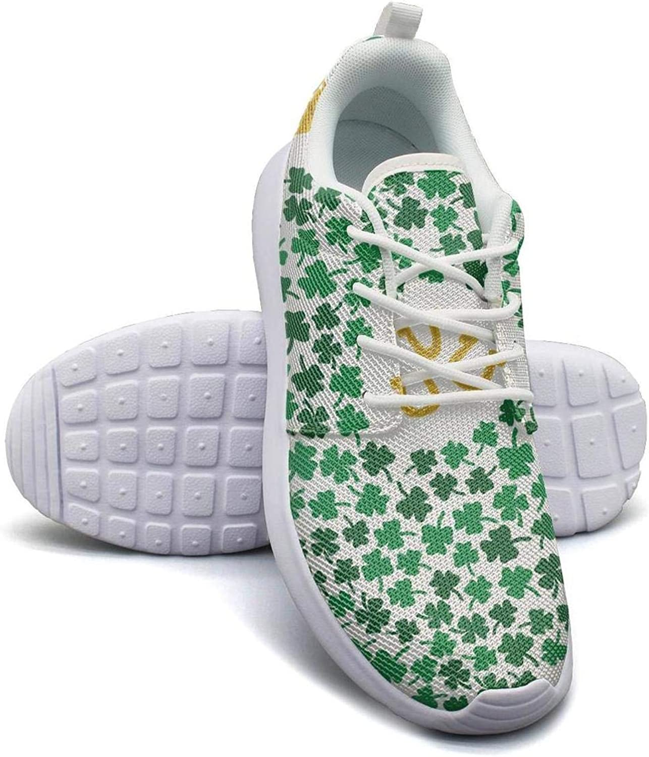 Gjsonmv St. Patrick's Day mesh Lightweight shoes for Women Casual Sports Driving Sneakers shoes